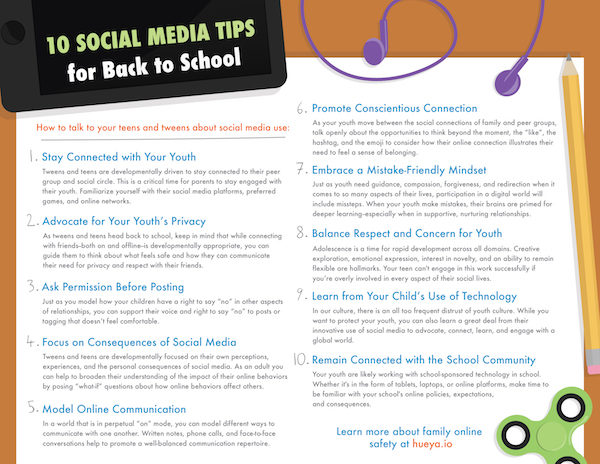 10 Social Media Tips for Back to School